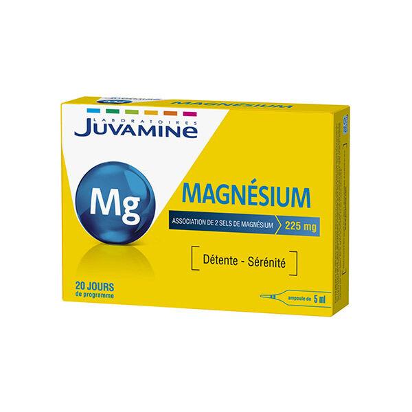 Juvamine Magnésium Détente et Sérénité 20 ampoules