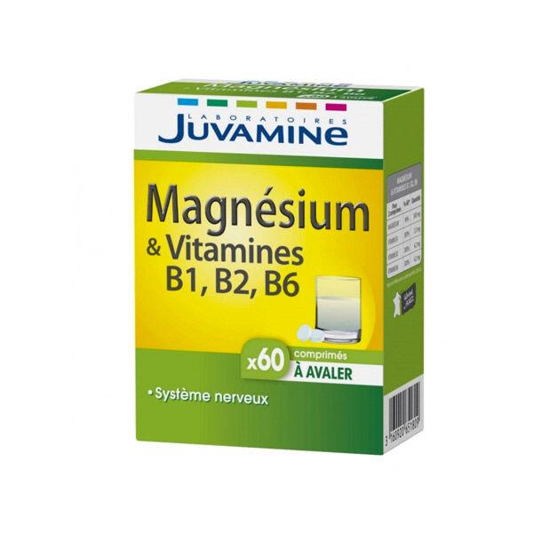 Juvamine Magnésium & Vitamines B1, B2, B6 60 comprimés