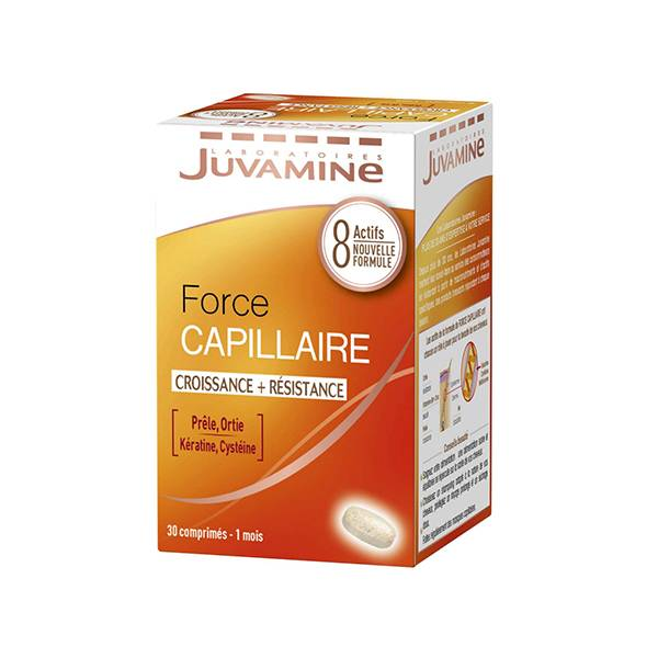 Juvamine Force Capillaire Croissance et Résistance 30 comprimés