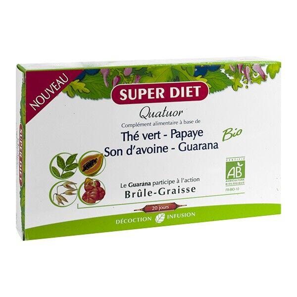 SuperDiet Super Diet Quatuor Brûle-Graisse 20 ampoules