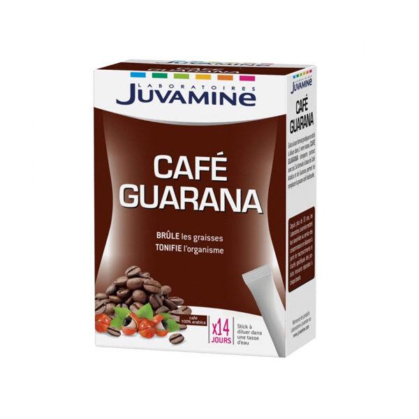Juvamine Café Guarana Brûle Graisse 14 Sticks