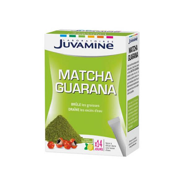 Juvamine Matcha Guarana 14 Sticks