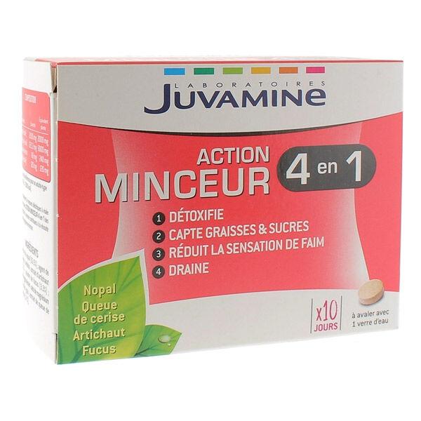 Juvamine Action Minceur 4 en 1 60 comprimés