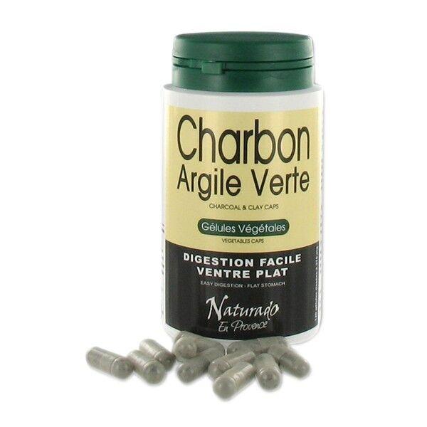 Naturado Charbon - Argile Verte 120 gélules