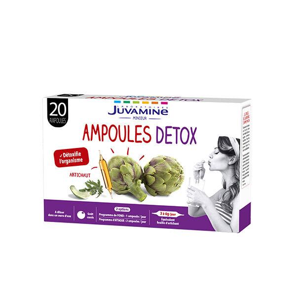 Juvamine Ampoules Détox Artichaut 20 Ampoules