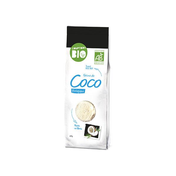 Comptoirs Bio Farine de Coco 400g