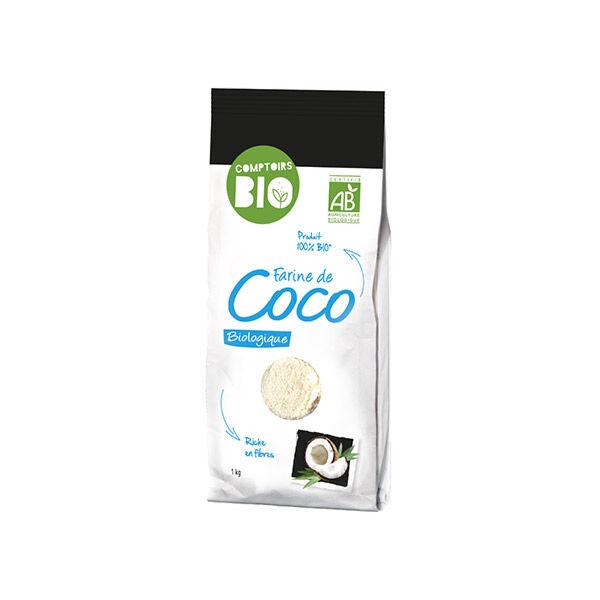 Comptoirs Bio Farine de Coco 1kg