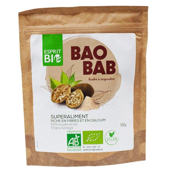Esprit Bio Baobab Poudre Bio 100g