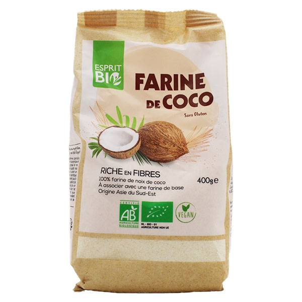 Esprit Bio Farine de Coco Bio 400g