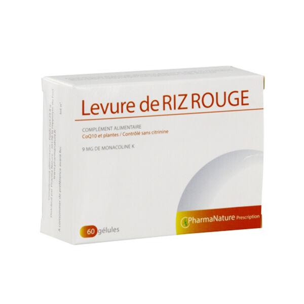 Prescription Nature Levure de Riz Rouge 60 gélules
