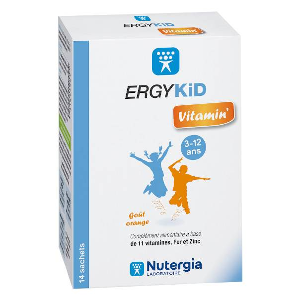 Nutergia ErgyKid Vitamin 14 sachets