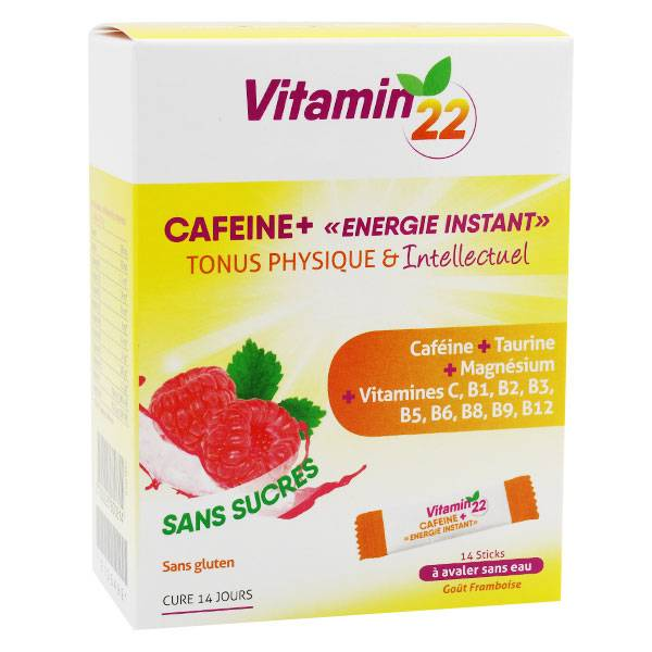 Ineldea Vitamin 22 Caféine+ 14 Sticks