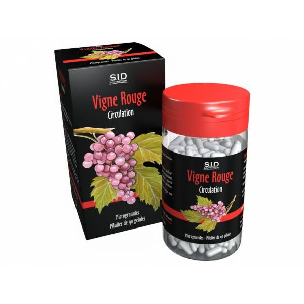 SIDN Phyto classics Vigne Rouge 90 gélules