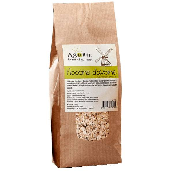 Agovie Flocons d'Avoine 500g