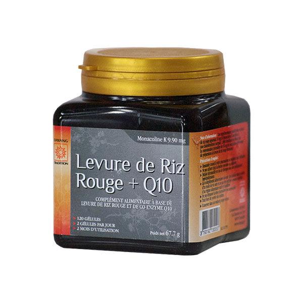 Dayang Levure de Riz Rouge + Q10 120 gélules