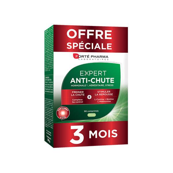 Forté Pharma Expert Anti-Chute Cure de 3 mois Lot de 2 boites + 1 Offerte