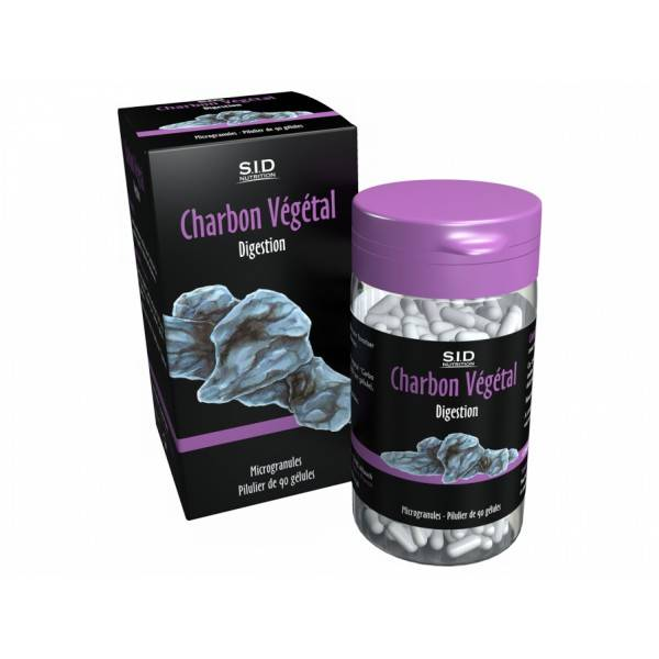 SID Nutrition SIDN Phyto Classics Charbon Végétal 90 gélules