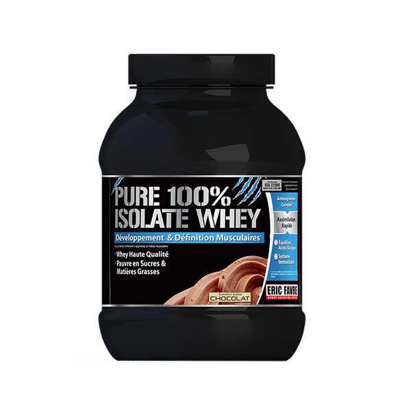Eric Favre Pure 100% Isolate Saveur Chocolat 750g