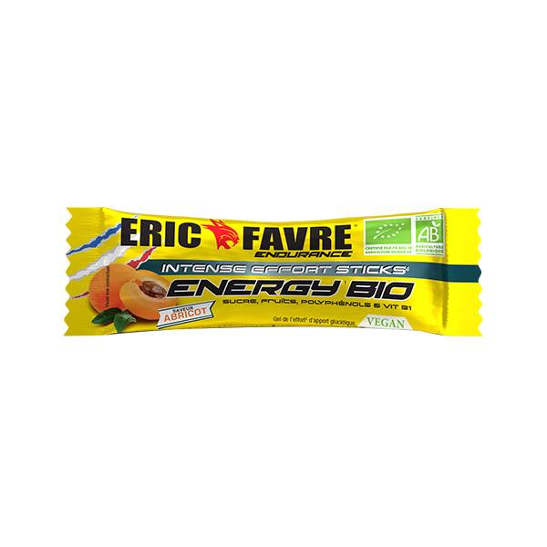 Eric Favre Energy Bio Stick Saveur Abricot 25g