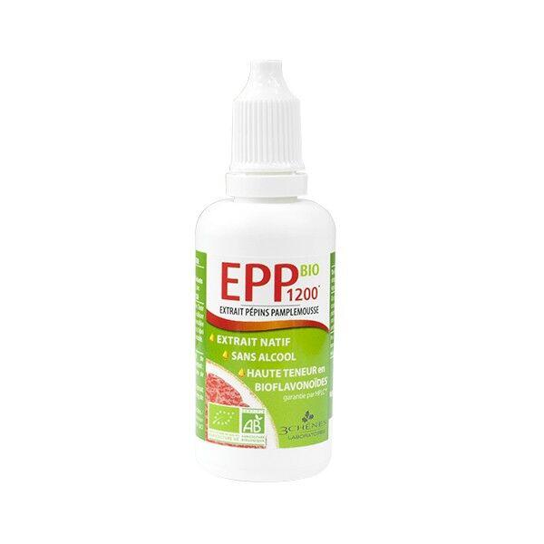 Les 3 Chênes EPP Bio 1200 Extrait Pépins de Pamplemousse 50ml