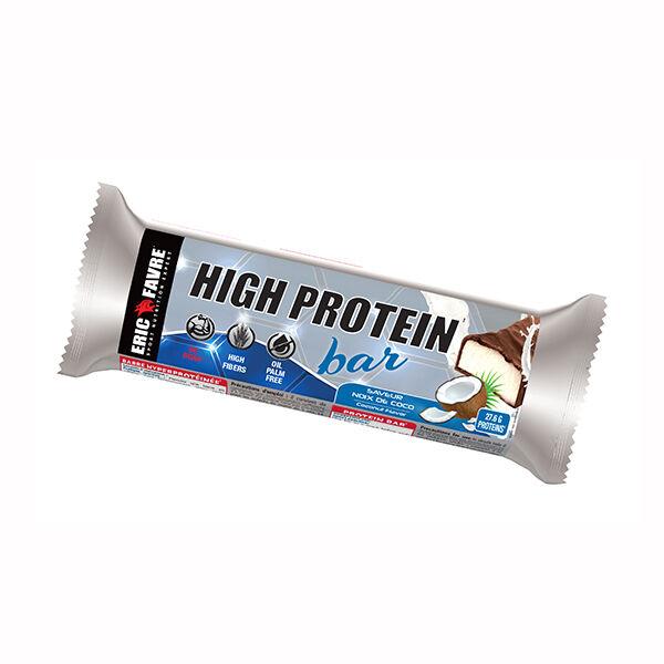 Eric Favre High Protein Barre Saveur Noix de Coco 80g