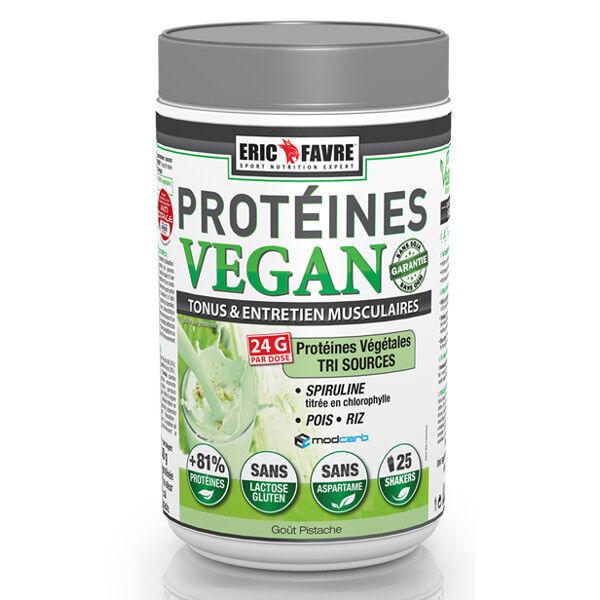 Eric Favre Proteines Vegan Goût Pistache 750g