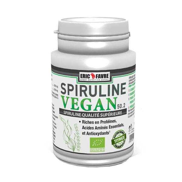 Eric Favre Spiruline Vegan 100 comprimés