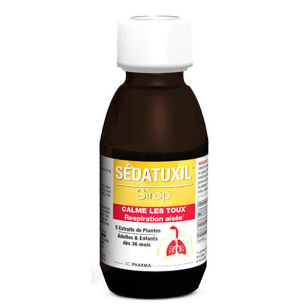 3 C Pharma Sedatuxil Sirop 125ml