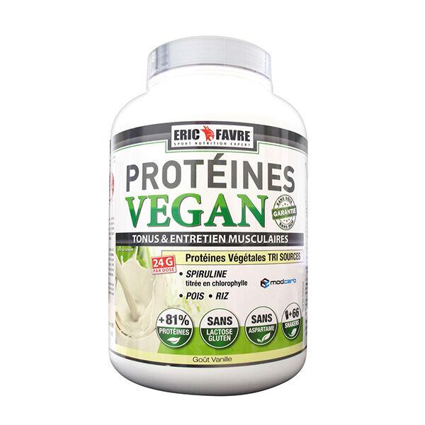 Eric Favre Vegan Protéines Vanille 2kg