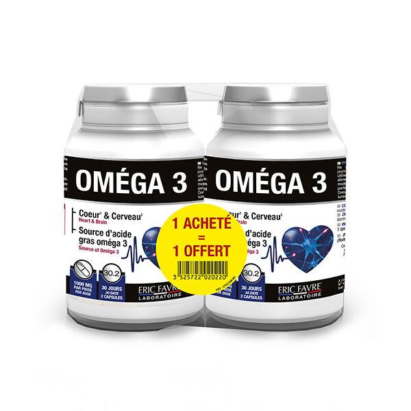 Eric Favre Omega 3 Lot de 2 x 60 capsules