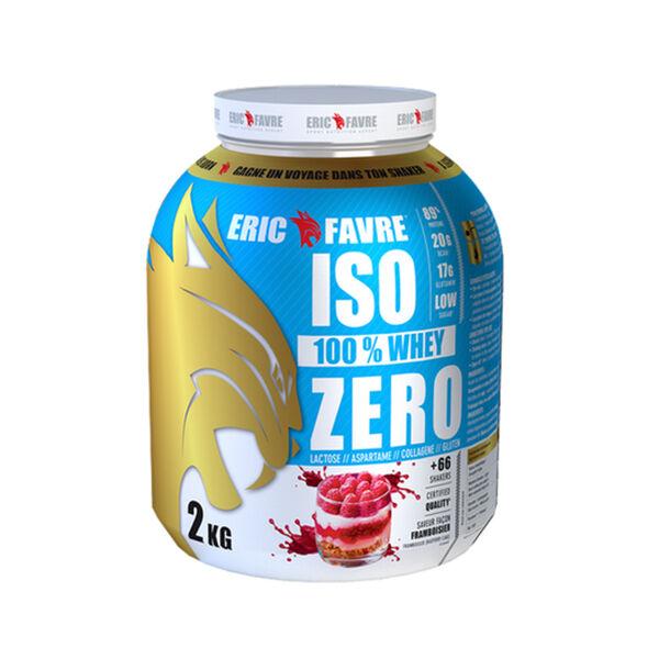 Eric Favre Iso Zero Goût Framboisier 2kg