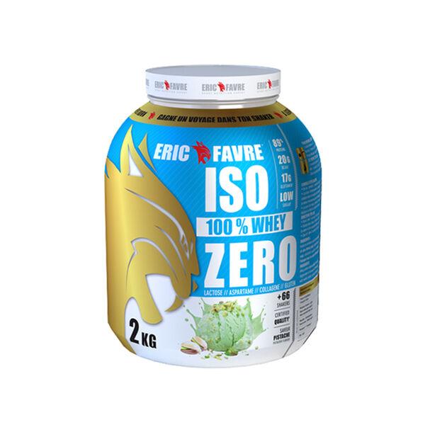 Eric Favre Iso Zero Goût Pistache 2kg