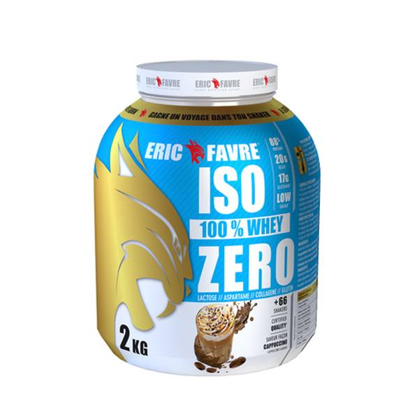 Eric Favre Iso Zero Goût Cappuccino 2kg