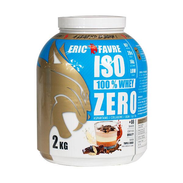 Eric Favre Iso Zero Goût Triple Choco 2kg