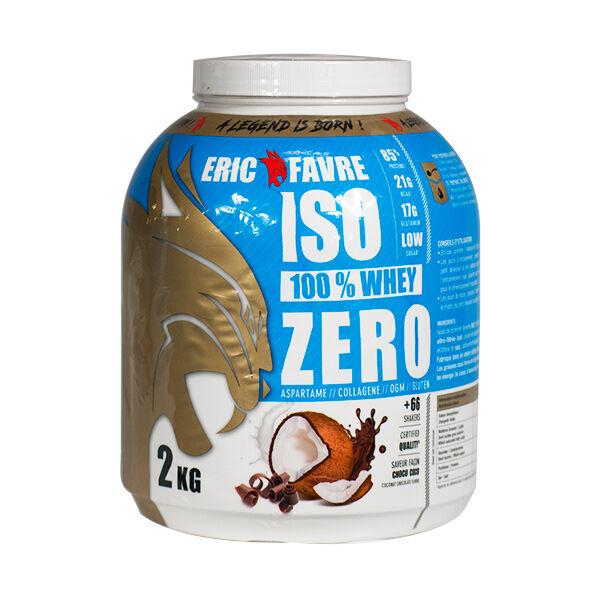 Eric Favre Iso Zero Goût Chocolat Coco 2kg