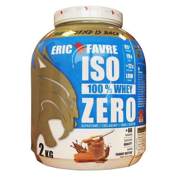 Eric Favre Iso Zéro Beurre de Cacahuètes 2kg