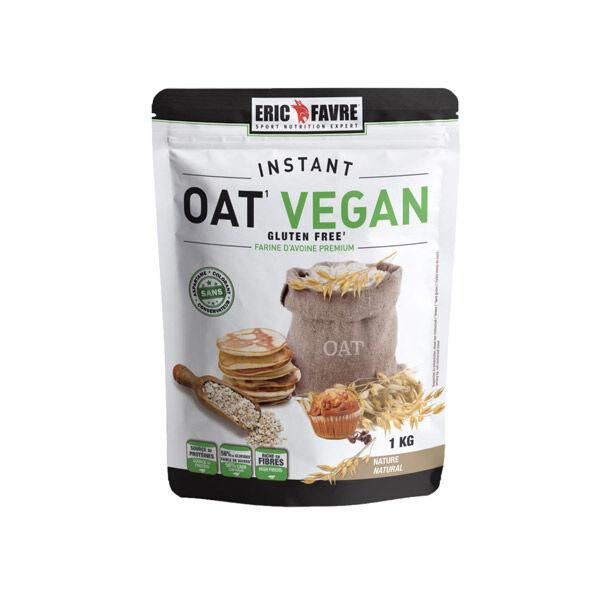 Eric Favre Instant Oat Vegan Farine d'Avoine Nature 1kg