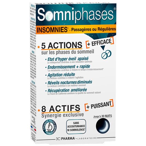 3 C Pharma 3C Pharma Somniphases 30 comprimés