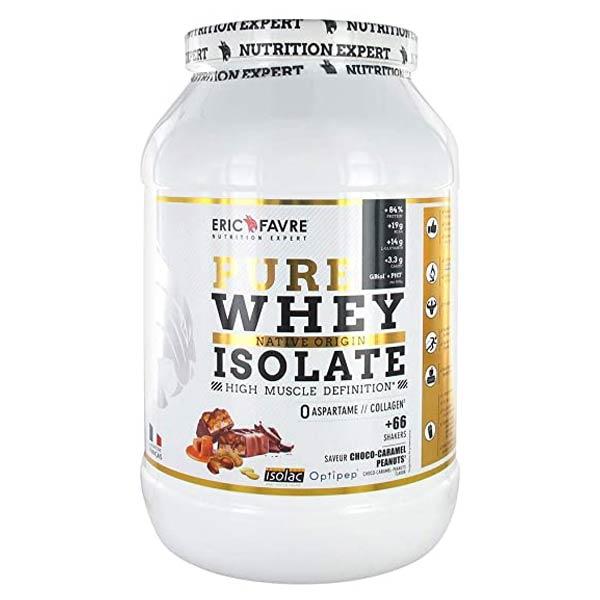 Eric Favre Pure Whey Isolate Choco-Caramel-Peanuts 2kg