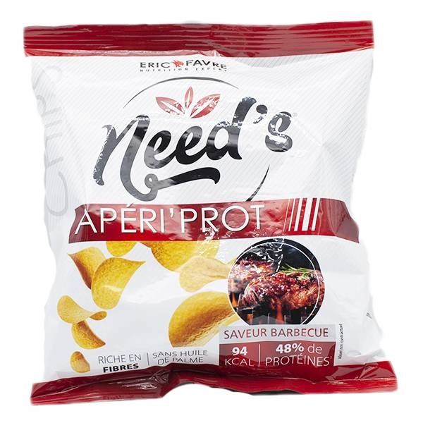 Eric Favre Need's Chips Apéri'Prot Saveur Barbecue 25g