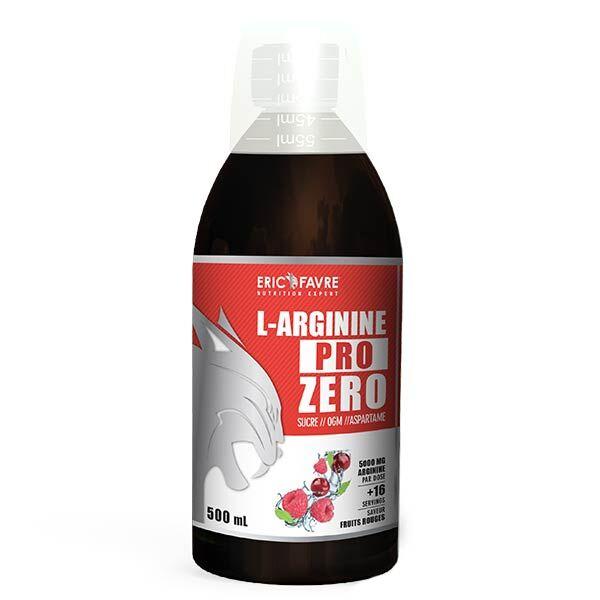 Eric Favre L-Arginine Pro Zero Fruits Rouges 500ml