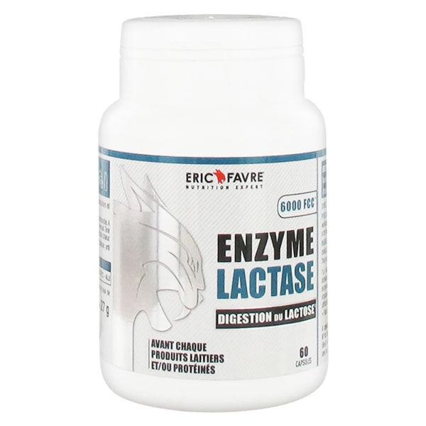 Eric Favre Enzyme Lactase 60 gélules