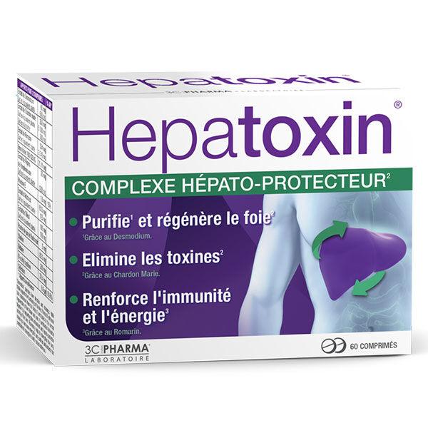 3 C Pharma Hépatoxin 60 comprimés