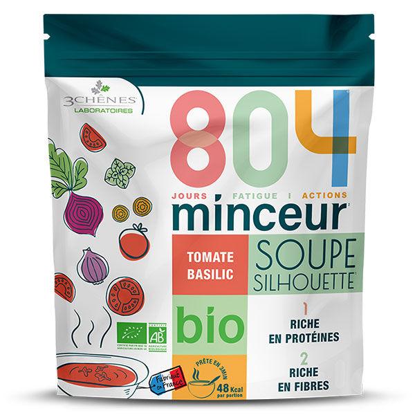 Les 3 Chênes 804 Bio Soupe Tomate Basilic 180g