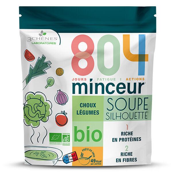 Les 3 Chênes 804 Bio Soupe Chou Légumes 180g