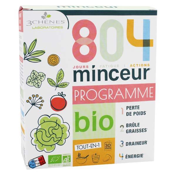Les 3 Chenes Les 3 Chênes 804 Minceur Bio Pack Programme