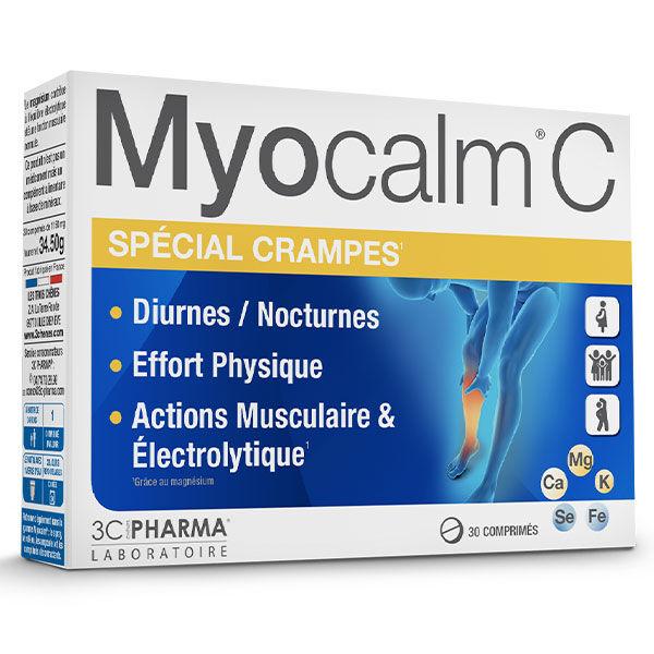 3C Pharma Myocalm C Spécial Crampes 30 comprimés