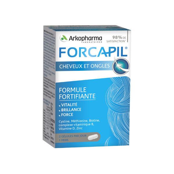 Arkopharma Forcapil Cheveux et Ongles 60 capsules