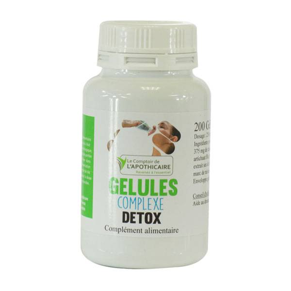 Le Comptoir de l'Apothicaire Complexe Detox 200 gélules végétales