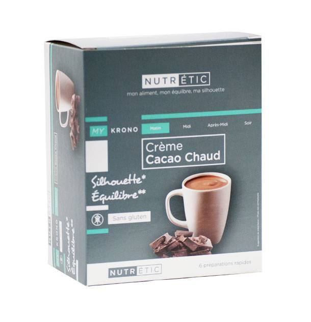 Nutrétic My Krono Matin Crème Cacao Chaud sans Gluten 6 sachets